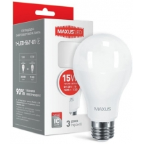 Лампа светодиодная MAXUSA70 15W 3000K 220V E27