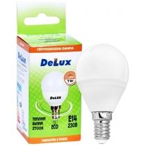 Лампа светодиодная DELUX BL50P 7Вт 2700K 220В E14 теплый белый