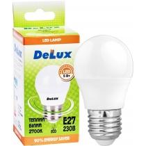 Лампа светодиодная DELUX BL50P 5 Вт 2700K 220В E27  теплый белый