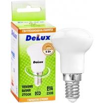 Лампа светодиодная DELUX FC1 4Вт R39 2700K 220В E14 теплый белый