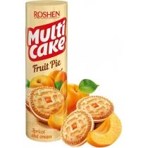 Печенье-сэндвич Multicake с начинкой абрикос-крем ККФ 195г / 28шт