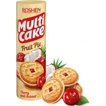 Печиво-сендвіч Multicake з начинкою вишня-кокос ККФ 195г /28шт