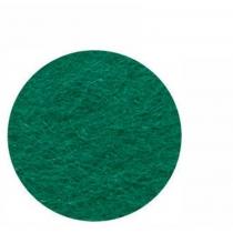 Фетр листовой (полиэстер), 21,5х28 см, Зеленый темный, 180г/м2, ROSA TALENT