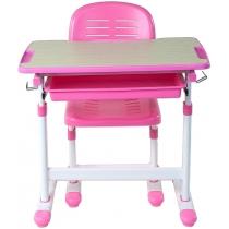 Комплект парта + стілець трансформери FUNDESK Piccolino Pink