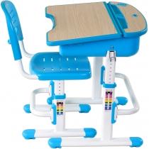 Комплект парта + стілець трансформери FUNDESK Capri Blue