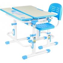 Комплект парта + стілець трансформери FUNDESK Lavoro Blue