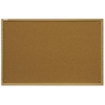 Доска пробковая 40 х 60 см, ecoBoards, деревянная рамка