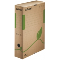 Архивный короб Esselte Eco, А4, 80 мм, коричневый