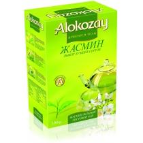 Чай зеленый Alokozay Tea листовой с жасмином 100 г