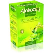 Чай зеленый Alokozay Tea листовой 100 г
