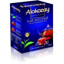 Чай черный Alokozay Tea листовой с бергамотом 100 г