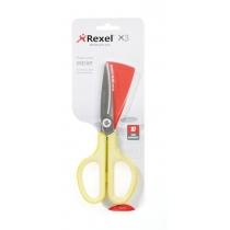 Ножиці Rexel із неіржавіючої сталі X3, колір жовтий