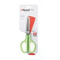 Ножиці Rexel із неіржавіючої сталі X3, колір зелений