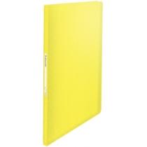 Папка с файлами Esselte Colour'ice, PP, 40 файлов, цвет желтый