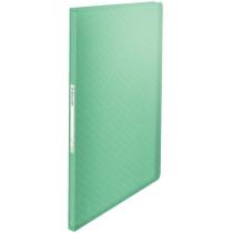 Папка с файлами Esselte Colour'ice, PP, 40 файлов, цвет зеленый
