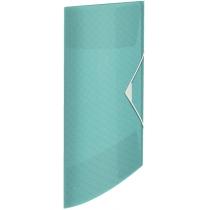 Папка-бокс на резинке Esselte Colour'ice, PP на 150л., цвет голубой