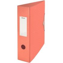Папка-регистратор Esselte Colour'ice, А4 82мм, цвет абрикос