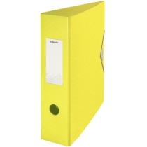 Папка-реєстратор Esselte Colour'ice, А4 82мм, колір жовтий