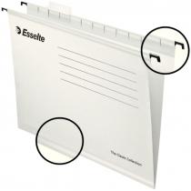 Файл підвісний  Esselte Classic А4 картонний,  білий