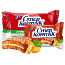 """Печенье """"Супер-Контик"""" с орехом молочный"""