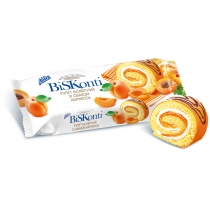 "Рулет ""BisKonti"" со вкусом абрикоса"