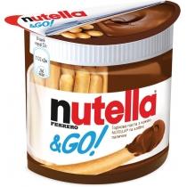 Паста горіхова з какао NUTELLA® та хлібні палички, 52 г