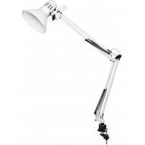 Лампа настільна  DELUX TF-06_E27 білий