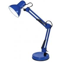 Лампа настольная DELUX TF-07_E27 голубой