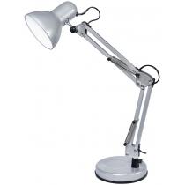 Лампа настольная DELUX TF-07_E27 серебро