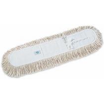 Моп для сухой уборки хлопчатобумажный с лентой 80 см