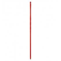 Рукоятка пластиковая 145 см с резьбой красная