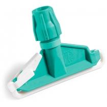 Затиск для мопів пластиковий зелений