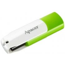 Флеш-память 16 Gb Apacer AH335 (AP16GAH335G-1), зеленый / белый