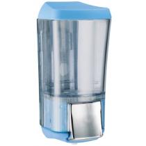 Дозатор для рідкого мила  KALLA 0,17 л Colored пластик прозорий, блакитний