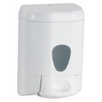 Дозатор рідкого мила PRESTIGE 0,55 л пластик білий