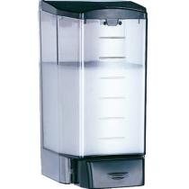 Дозатор жидкого мыла Medigel 1,1 л пластик прозрачный, черный