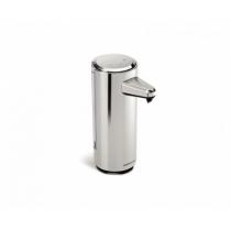 Дозатор жидкого мыла сенсорный 237 мл, зарядное устройство, пластиковый матовый никель