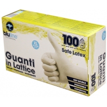 Перчатки латексные SAFE LATEX размер XL 100 шт в коробке