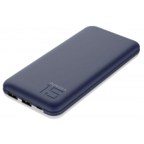 УМБ Puridea S3S 15000 mAh Li-Pol Rubber Blue & White