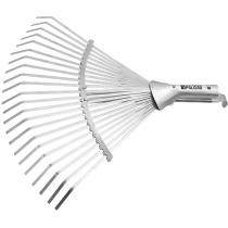 Грабли веерные 22 зуба, без черенка, раздвижные, 270-460 мм, PALISAD