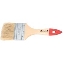 """Кисть плоская """"Стандарт"""" 4 """", натуральная щетина, деревянная ручка, MTX"""