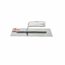 Гладилка сталева, 280 х 130 мм, дзеркальна поліровка, дерев'яна ручка MTX