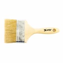 """Кисть плоская """"Евро"""" 4 """", натуральная щетина, деревянная ручка MTX"""