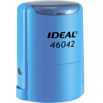 Оснастка автомат., TRODAT 46042, пласт., для печатки d 42 мм, синя, с футляром