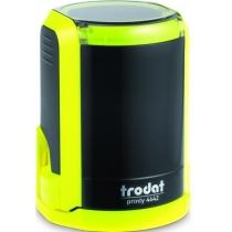 Оснастка автомат., TRODAT 4642, пласт., для печатки d 42 мм, жовта, с футляром