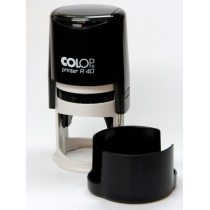 Оснастка автомат. COLOP, Printer R40 чорн. d 40, пластик