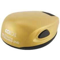 Оснастка кишенькова. COLOP, StMouse R40 золото d 40, пластик