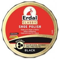 Крем-банка для обуви ERDAL черный