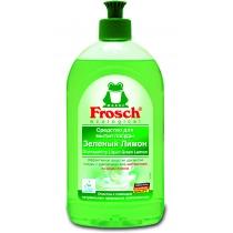 Средство для мытья посуды Frosch 500 мл зеленый лимон