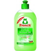 Средство для мытья посуды Frosch 500 мл бальзам зеленый чай